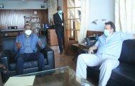 RDC- Insécurité au Sud-kivu : le Gouverneur Théo Kasi et David Gresley en ont discuté