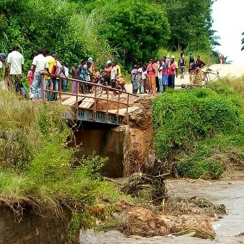 Sud-kivu- Fizi- infrastructures : le pont Lusenda menace de disparition