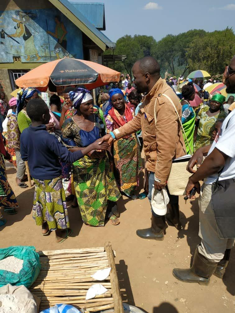 Nord-kivu : 3 jours seulement après la fermeture de la session parlementaire et le début des vacances, Saidi Balikwisha est déjà dans la région de Beni pour échanger avec la population