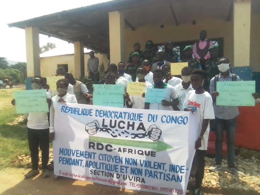 Sud-kivu : une marche de soutien aux actions des FARDC  a eu lieu à  Uvira