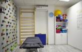 Zdjęcie przedstawiające wnętrze gabinetu fizjoterapeutycznego