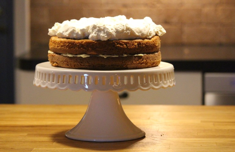 Vintage Graham Cracker Cake
