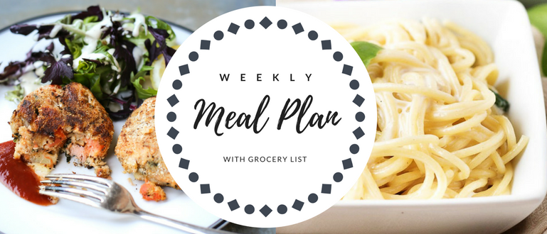 Weekly Meal Plan 17