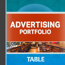 Advertising Portfolio report cover