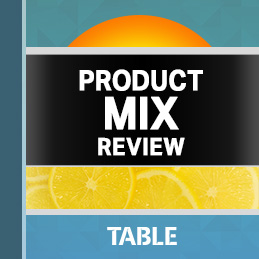 Product Mix Review report cover