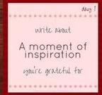Gratefulness Day 1
