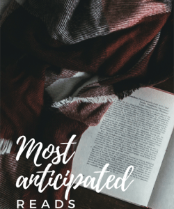 Anticipated Reads Winter 2018