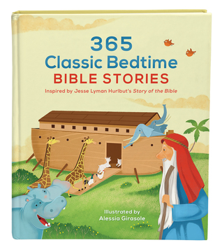 BOOK REVIEW: 365 Classic Bedtime Bible Stories by Jesse Lyman Hurlbut