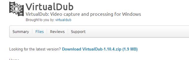 virtualdub 1
