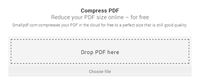 small PDF compress
