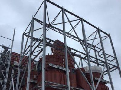 Margam Biomass Structural Steelwork