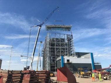 Teesside Biomass Structural Steelwork