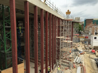 Hiscox Building Structural Steelwork