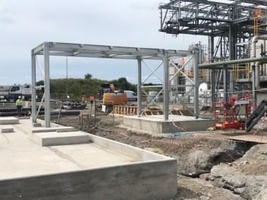 Seqens Billingham Plant 5.1 Structural Steelwork