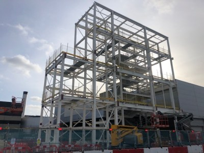 Birmingham Airport TE1 Extension - VCC Structural Steelwork