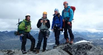 Fjellklatring - klatrekurs med Breoppleving i Jotunheimen