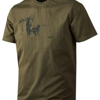 Printed T-shirt str large