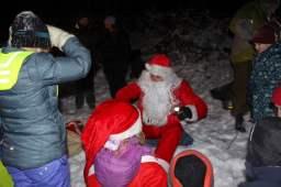 Barna venter på gave fra nissen
