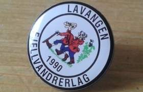 Lavangen Fjellvandrerlags pin