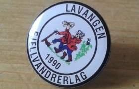 Lavangen Fjellvandrerlags pin