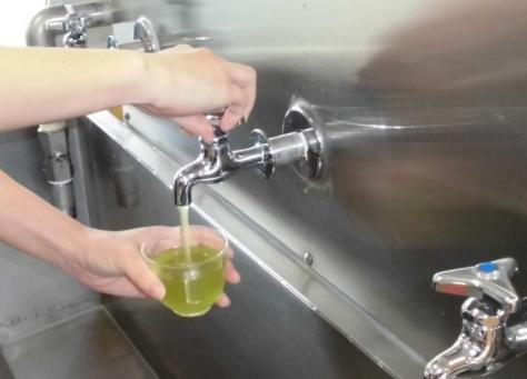 給茶機(緑茶が出る蛇口) 島田市HPから引用