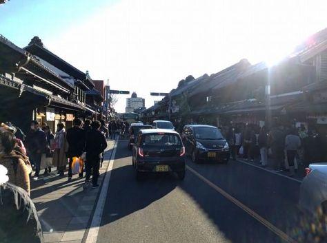 """""""小江戸""""川越の蔵通り"""