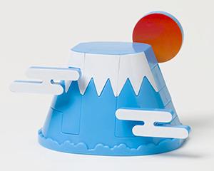 ゴトプラ 富士山/富士山 ゴトプラ 株式会社プレックス | プレックスのおもちゃ から引用