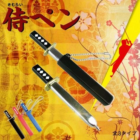 侍ペン 文具,筆記具 | おもしろ雑貨通販ショップTIC-Baby HPから引用