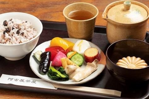 お茶漬けバイキング|阿古屋茶屋|清水寺から徒歩6分 HPから引用