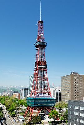 さっぽろテレビ塔(147.2m 北海道札幌市) 全日本タワー協議会HPから引用