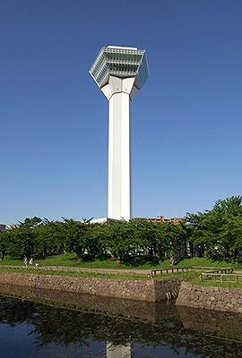 五稜郭タワー(107m 北海道函館市) 全日本タワー協議会HPから引用
