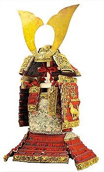 国宝 赤糸威大鎧(竹虎雀飾)