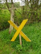 Nix Castoren!!! Überall gelbe Kreuze!