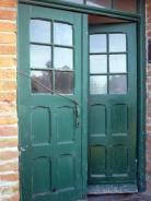Eine schöne Tür zum stillen Örtchen
