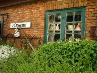 Im rausgehen gesehen, von der Straße aus hinter einer Tür verborgen: dies IST das Museum!!