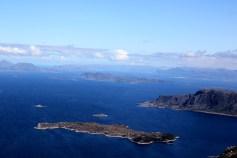 Askrova island in center