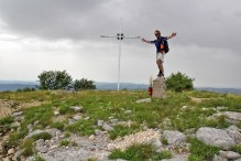 Me on the summit marker