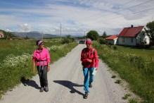 On Sauren, following the main road