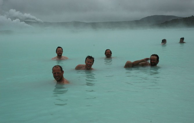 Blue Lagoon, Iceland. Well deserved...