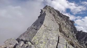 The summit ridge is no-go