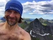 Selfie on Sveddalstinden