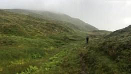 Approaching Menesstølen