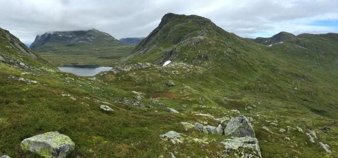 Brekkefjellet - across Vasskaret