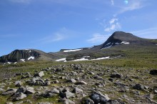 View towards Ytstetinden