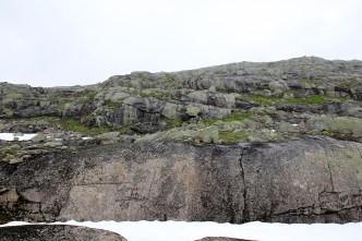 Lots of slabs ahead on the route