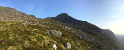 Towards the west ridge