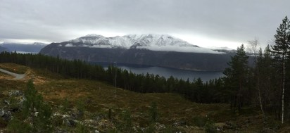Bleia - across the fjord