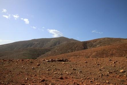 On the way to Pico de Betancuria