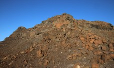 Eroded ridge