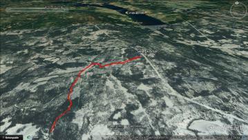 Trip tracks, Høgkorset